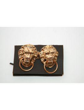 leo-lion-belt-buckle by vintage303