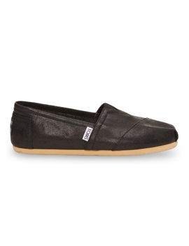 black-metallic-synthetic-leather-womens-classics-$5900 by toms