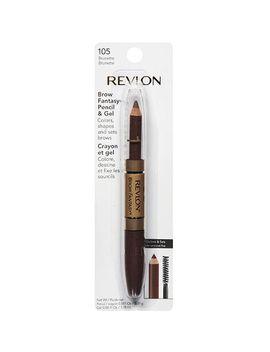 revlon-brow-fantasy-pencil-and-gel,-106-dark-brown,-011-oz by revlon