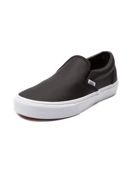 vans-slip-on-leather-skate-shoe by vans