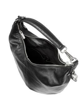 padlock-hobo-textured-leather-shoulder-bag by alexander-mcqueen