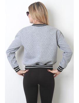 athletic-rib-trim-sweater by urbanog