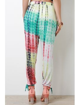 tie-dye-knit-pants by urbanog