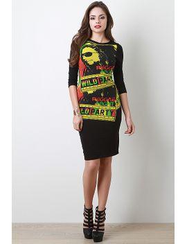 reggae-jam-dress by urbanog