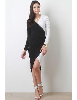 contrast-half-dress by urbanog