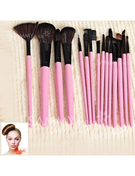 15pcs-brushes-professional-cosmetic-tool-with-pink-leather-bag by sammy-dress