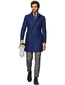blue-double-breasted-coat by suitsupply