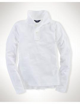 long-sleeve-uniform-polo-shirt by ralph-lauren