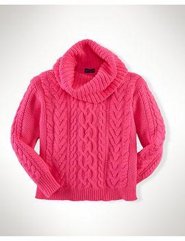 aran-knit-turtleneck by ralph-lauren