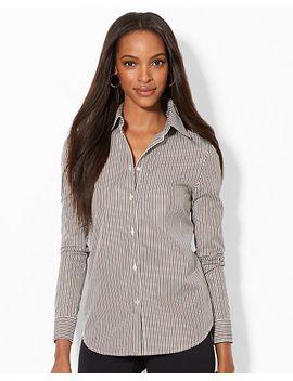 striped-cotton-shirt by ralph-lauren