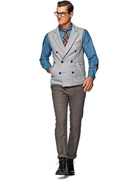 light-grey-bodywarmer by suitsupply
