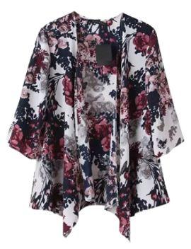 multicolor-floral-print-kimono by choies