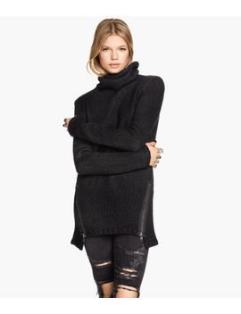 cowl-neck-sweater-with-zips by h&m