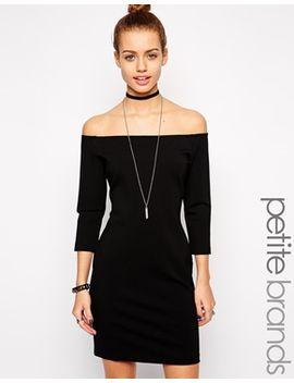 glamorous-petite-bardot-body-conscious-dress by glamorous-petite