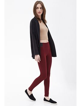 seam-stitched-paneled-leggings by forever-21