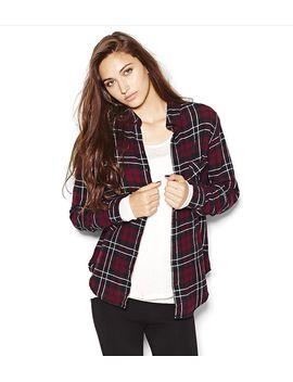 flannel-plaid-boyfriend-shirt by garage