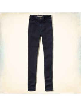 hollister-blake-natural-waist-jeggings by hollister