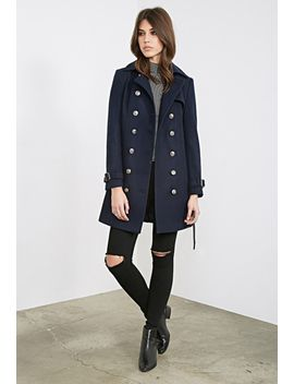 belted-trench-overcoat by forever-21