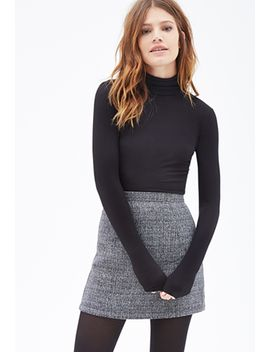 ribbed-turtle-neck-top by forever-21