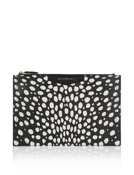 antigona-pouch-in-black-and-white-coated-canvas by givenchy