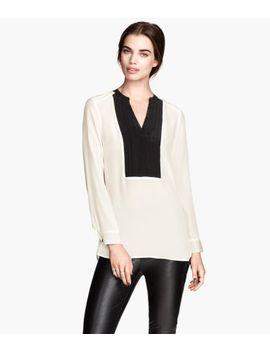 silk-blouse by h&m