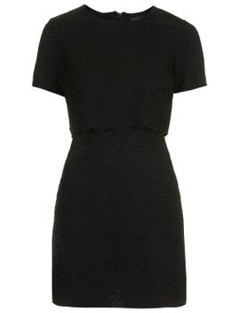 scallop-lace-overlay-dress by topshop