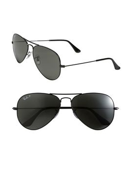 polarized-original-aviator-58mm-sunglasses by ray-ban