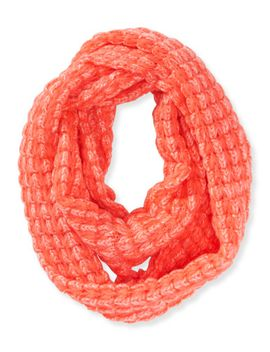 solid-chunky-knit-infinity-scarf by aeropostale