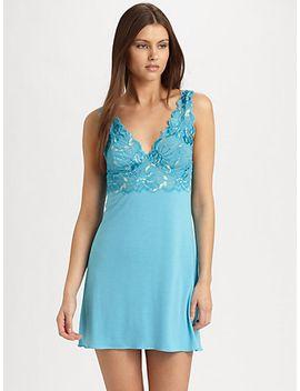 zen-floral-lace-chemise by natori