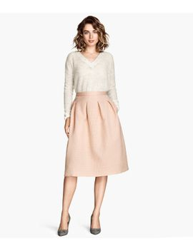 crinkled-skirt by h&m
