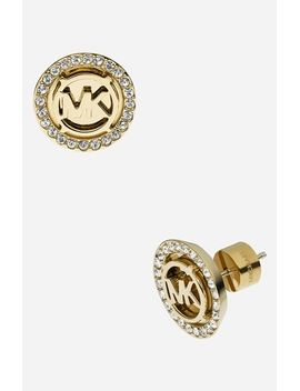 michael-kors-monogram-stud-earrings by michael-michael-kors