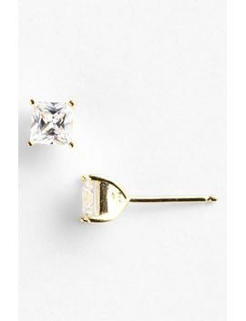 princess-1ct-tw-cubic-zirconia-stud-earrings by nordstrom