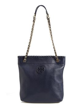 marion-leather-bookbag by tory-burch