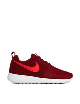 nike-roshe-run-winter-burgundy-trainers by nike