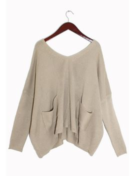 v-neckline-sweaters by lookbook-store