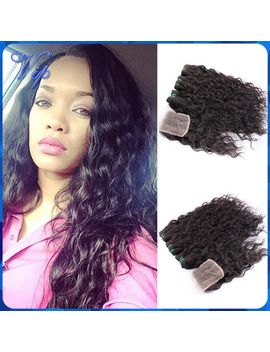 virgo-hair-brazilian-water-wave-virgin-hair-bundles-with-lace-closures-wet-and-wavy-virgin-brazilian-human-hair-with-closure by ali-express
