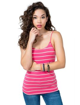 basic-stripe-cami by agaci