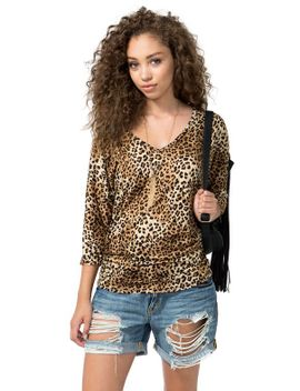 all-cinched-up-leopard-dolman by agaci