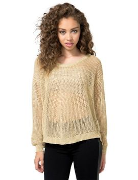 gold-digger-sweater by agaci