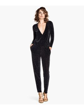 glittery-jumpsuit by h&m