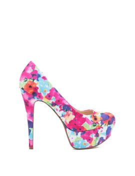 realove-11p-bold-floral-pump by agaci