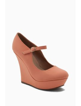 nina-3-nubuck-maryjane-wedge by agaci