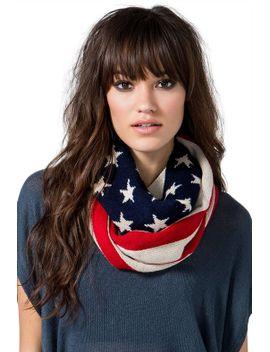true-american-infinity-scarf by agaci