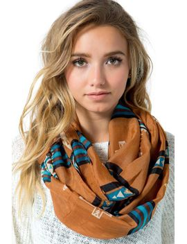 navajo-tribal-cross-printed-infinity-scarf by agaci