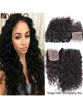 wet-and-wavy-brazilian-water-wave-hair-with-closure-virgin-brazilian-curly-hair-with-closure-brazilian-virgin-hair-with-closure by ali-express