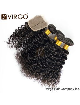 brazilian-virgin-hair-extensions-deep-wave-curly-3pcs-brazilian-virgin-hair-bundles-with-1-pcs-lace-closure-human-hair-weaves by ali-express