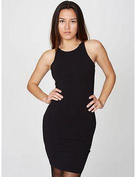 cotton-spandex-sleeveless-mini-dress- by american-apparel
