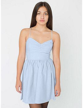 tie-back-dress by american-apparel