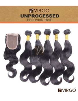 5a-grade-unprocessed-peruvian-virgin-hair-body-wave-3pcs-hair-weaves-with-1pcs-lace-closure-virgo-virgin-peruvian-hair-body-wave by ali-express
