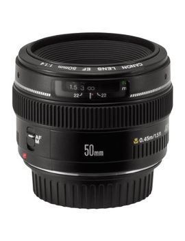 canon-ef-50mm-f_14-usm-standard-&-medium-telephoto-lens-for-canon-slr-cameras---fixed by canon